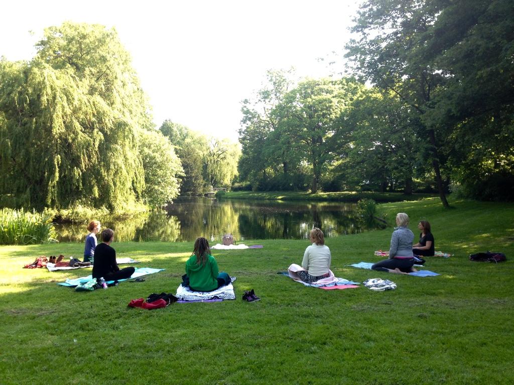 Kundalini Yoga in het Park